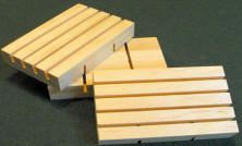 Basic Wooden soap dish