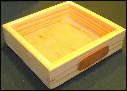 preseentation box for wooden soap dishes